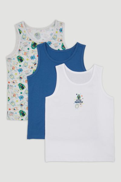 3 Pack Monster Vests