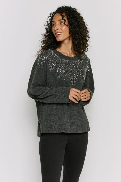 Sparkle Front Sweatshirt