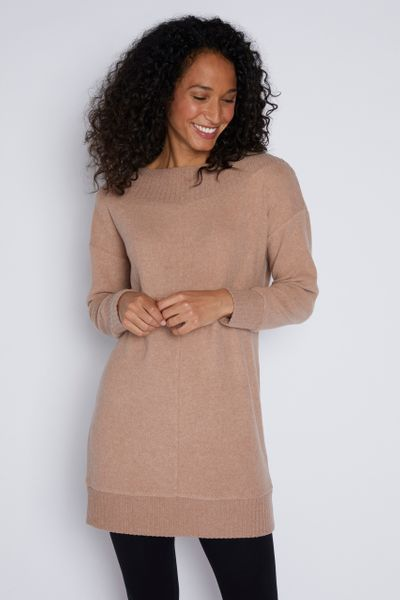 Ribbed Panel Tunic