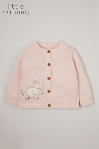 Little Nutmeg Bunny cardigan