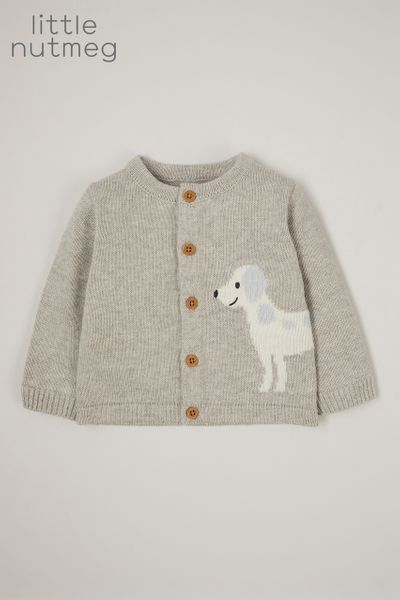 Little Nutmeg Dog cardigan