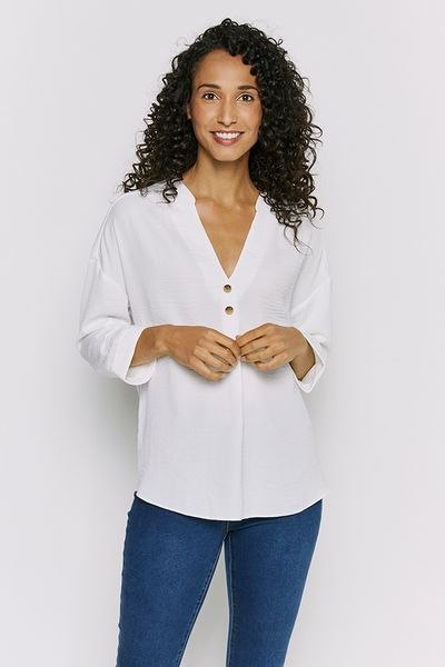 Cream Overhead Shirt