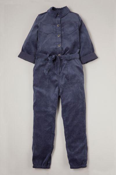 Blue Cord Boiler Suit