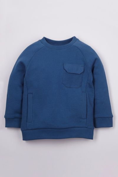 Utility Pocket Sweatshirt