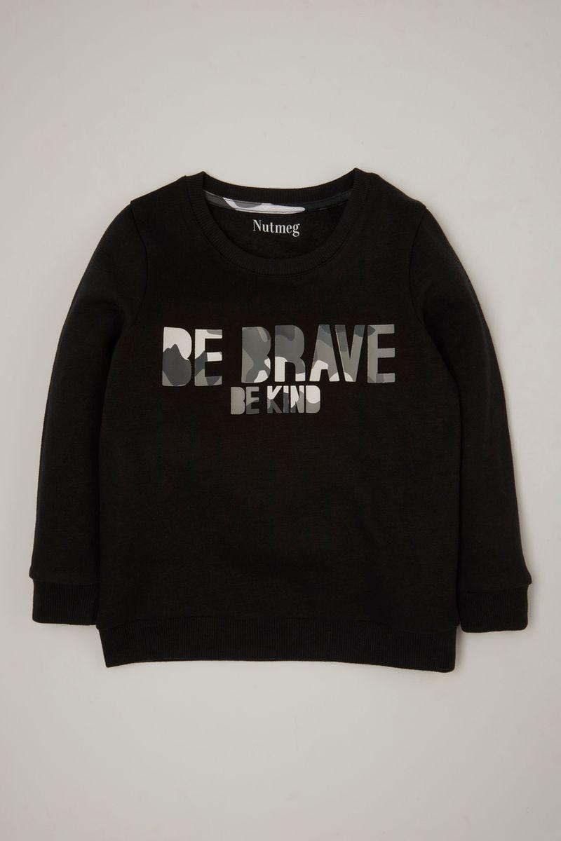 Be Brave Be Kind Camo Sweatshirt