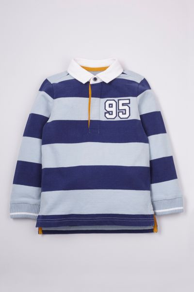 Navy Rugby Shirt 1-10 yrs