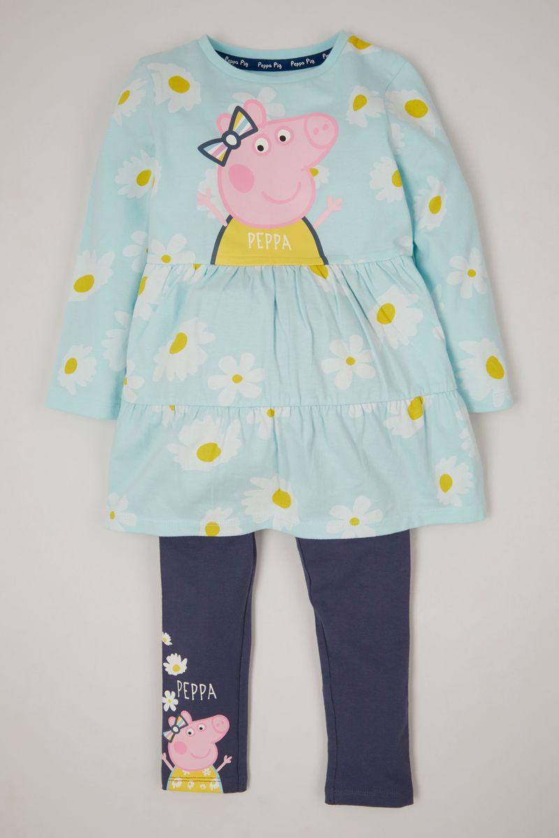 Peppa Pig Dress & leggings