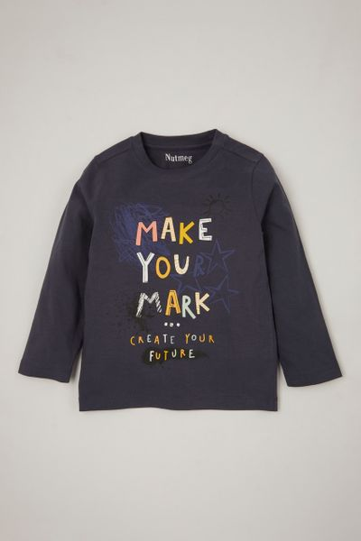 Make Your Mark Slogan T-shirt