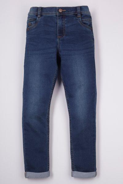 Adjustable Waist Denim Jeans