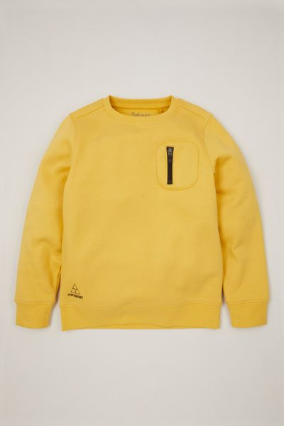 Ochre Zip Pocket Sweatshirt