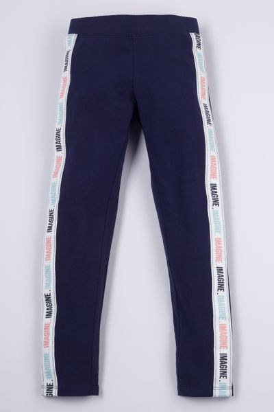 Navy Imagine Leggings