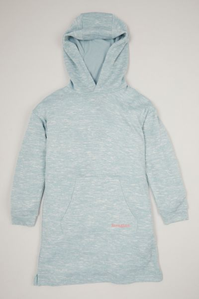 Blue Soft Hoodie dress