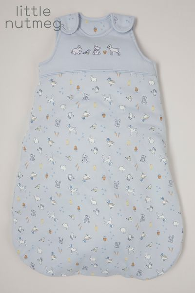 Little Nutmeg 2.5 Tog Blue Sleeping bag