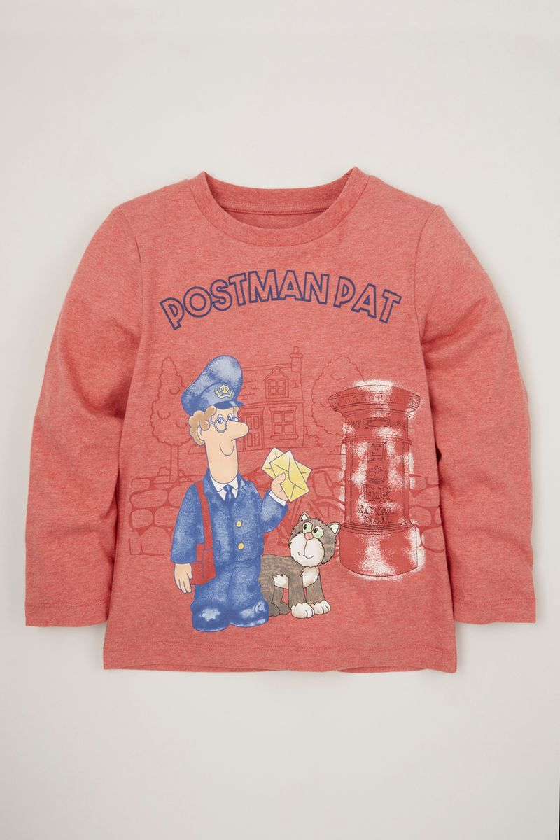 Red Postman Pat T-shirt