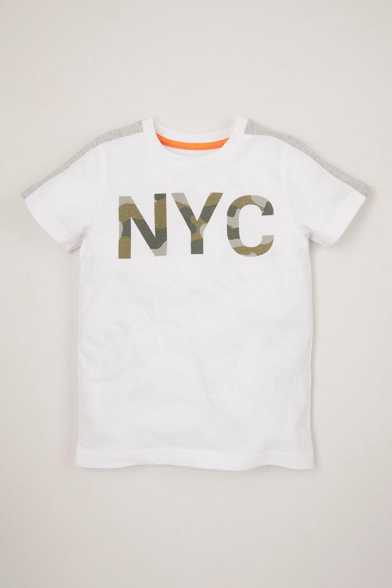 Camo Print T-shirt 1-10 yrs