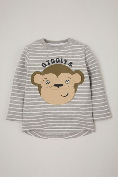 Interactive Cheeky Monkey T-Shirt