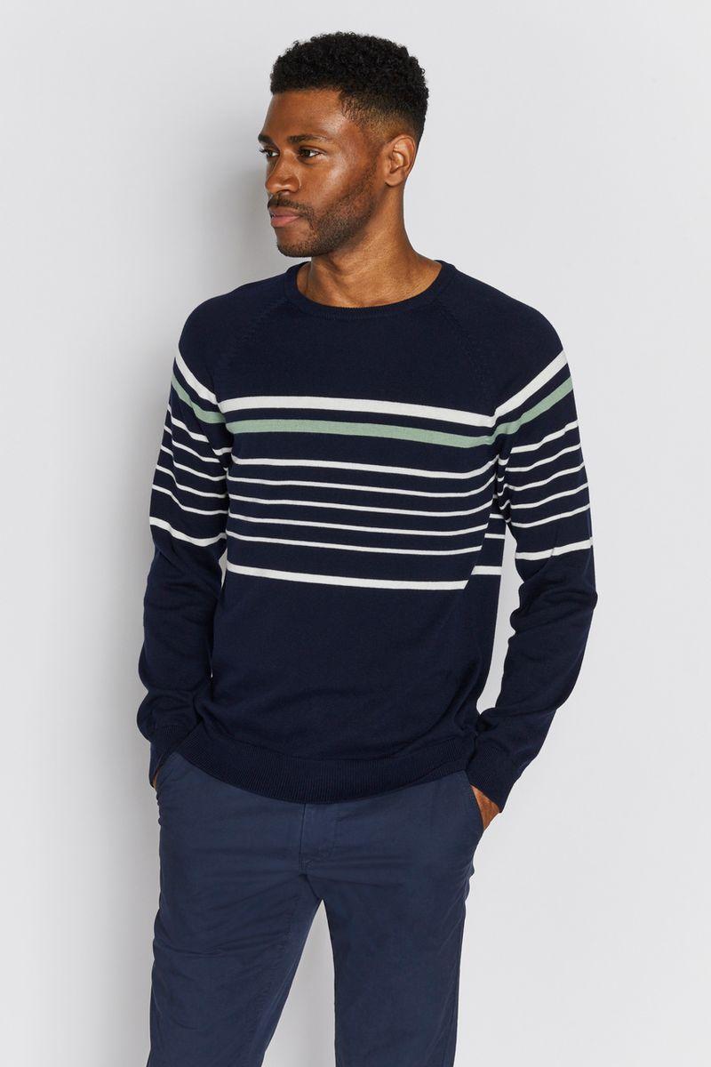 Navy Stripe jumper
