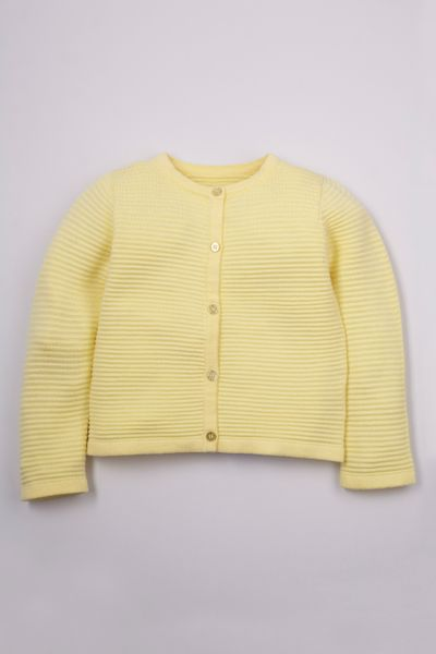 Lemon Knitted Cardigan 1-10yrs