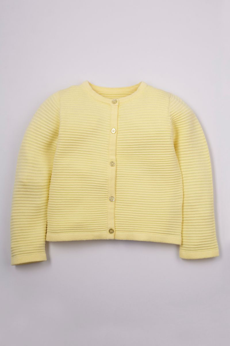 Lemon Knitted Cardigan 1-10yrs