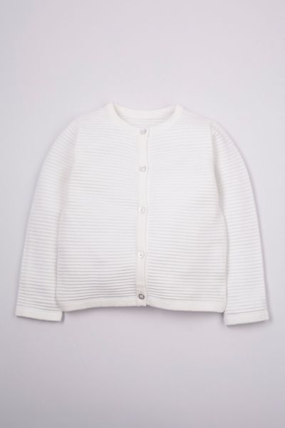 Cream Knitted cardigan 1-10yrs