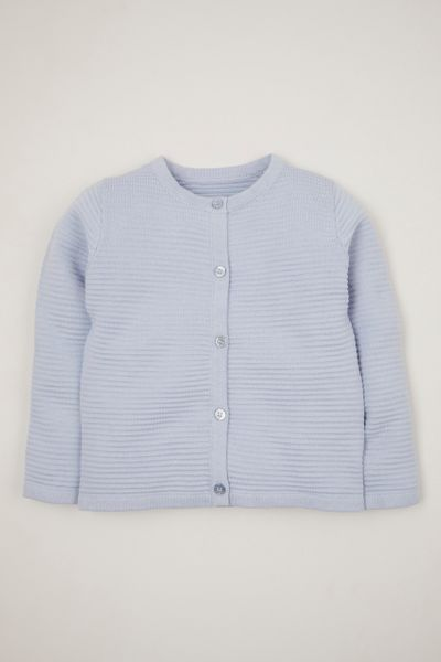 Blue Knitted cardigan 1-10yrs