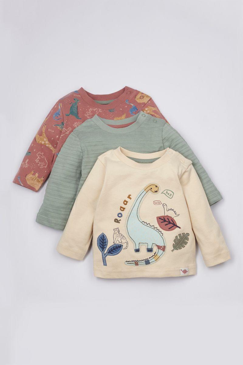 3 Pack Dinosaur T-Shirts