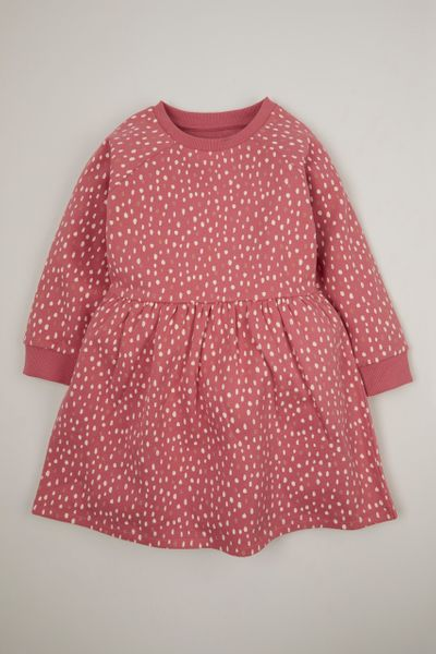 Spot Sweat Dress