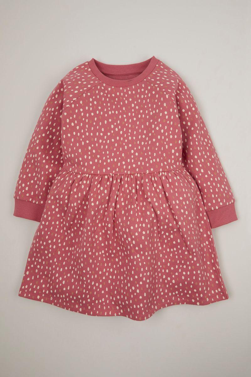 Spot Sweat Dress