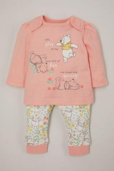 Disney Winnie the Pooh Pink Pyjamas