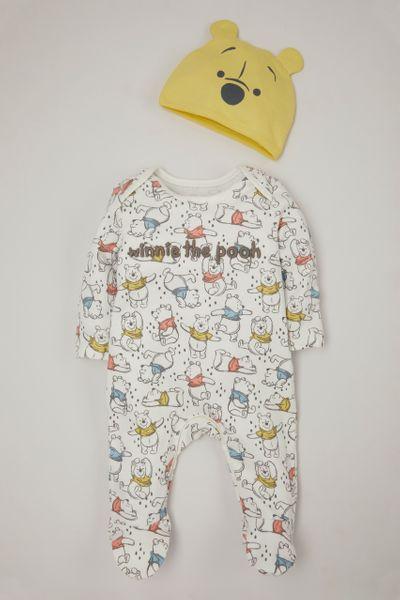 Disney Winnie the Pooh Sleepsuit & Hat