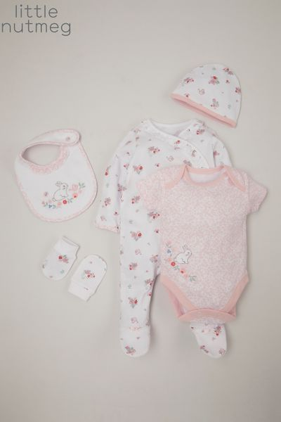 Little Nutmeg Pink 5 Piece Starter Set