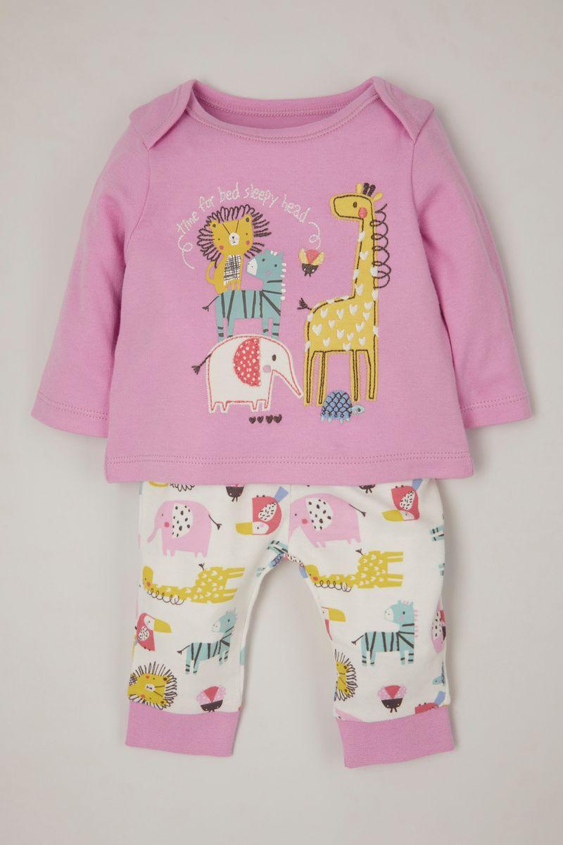 Safari Applique pyjamas