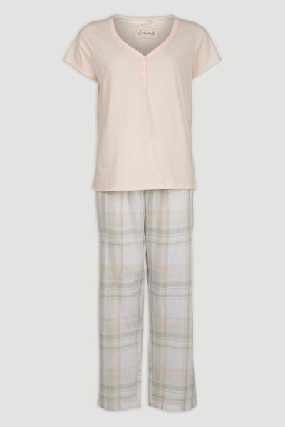 Pink Check Pyjamas