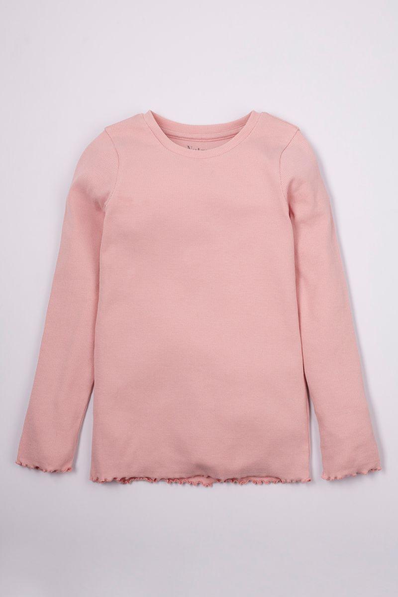 Blush Pink Long Sleeve T-shirt 3-14yrs