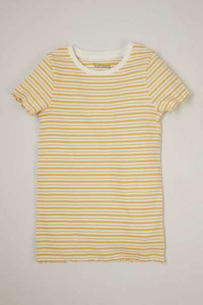 Stripe Ribbed T-shirt 3-14yrs