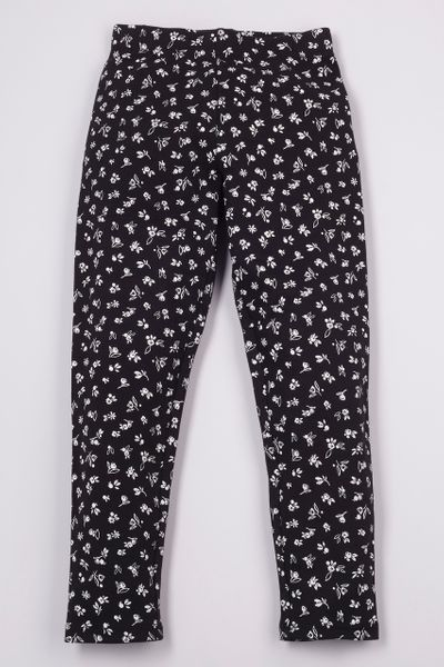 Adjustable Flower Print Leggings 3-14yrs