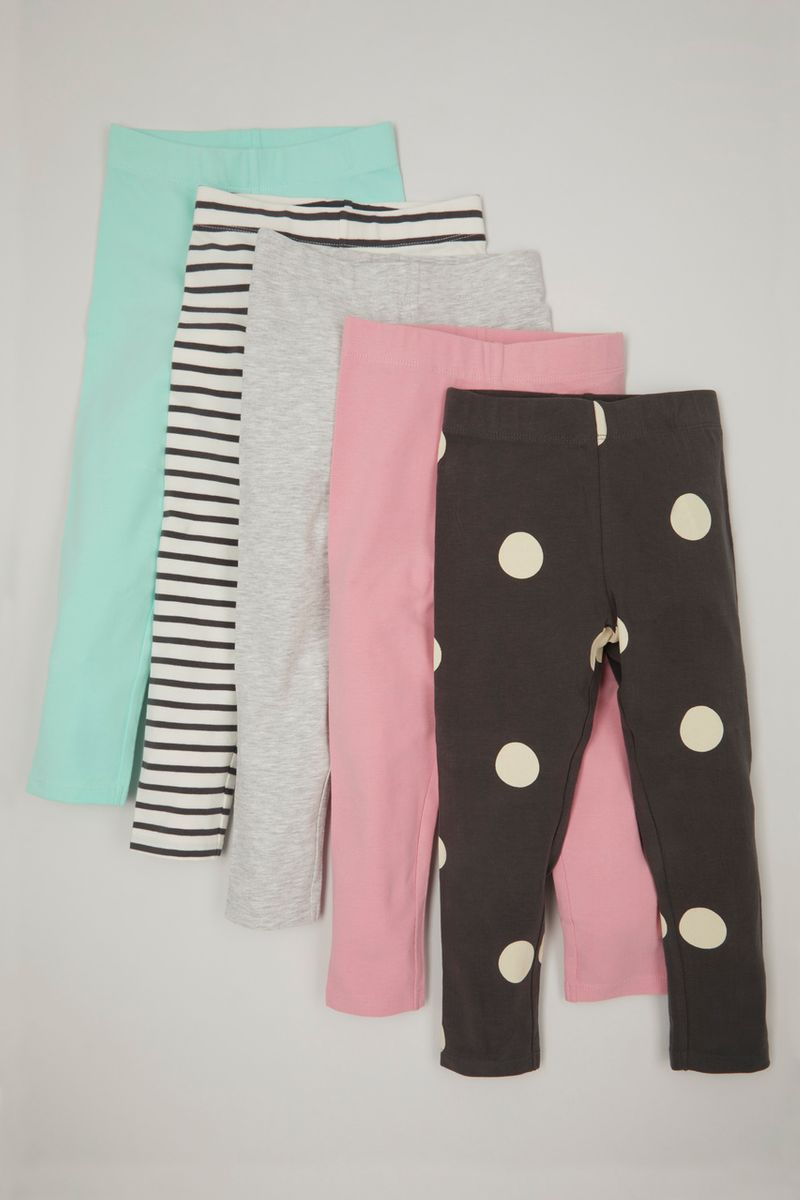 Online Exclusive 5 Pack Spot leggings