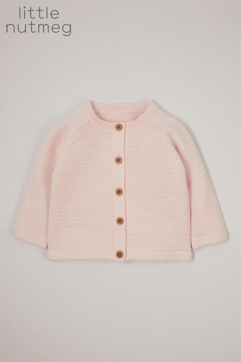 Little Nutmeg Online Exclusive Pink Cardigan