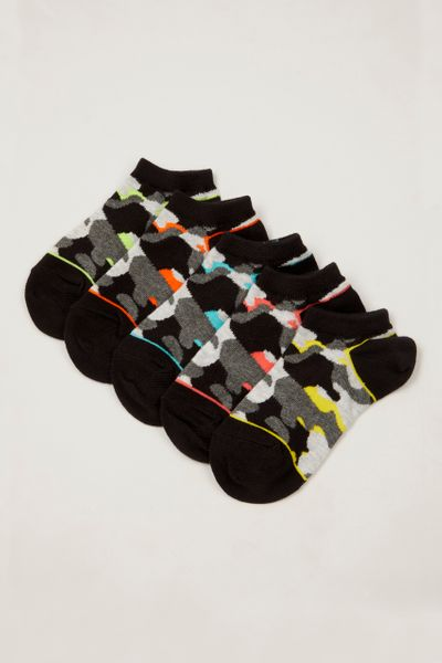 5 Pack Mono Camo Trainer Liners