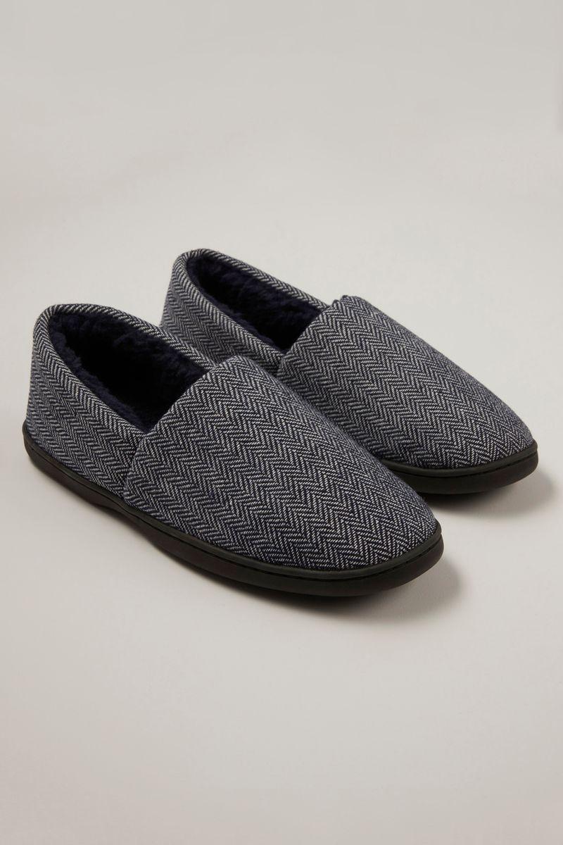 Herringbone Comfort Slippers