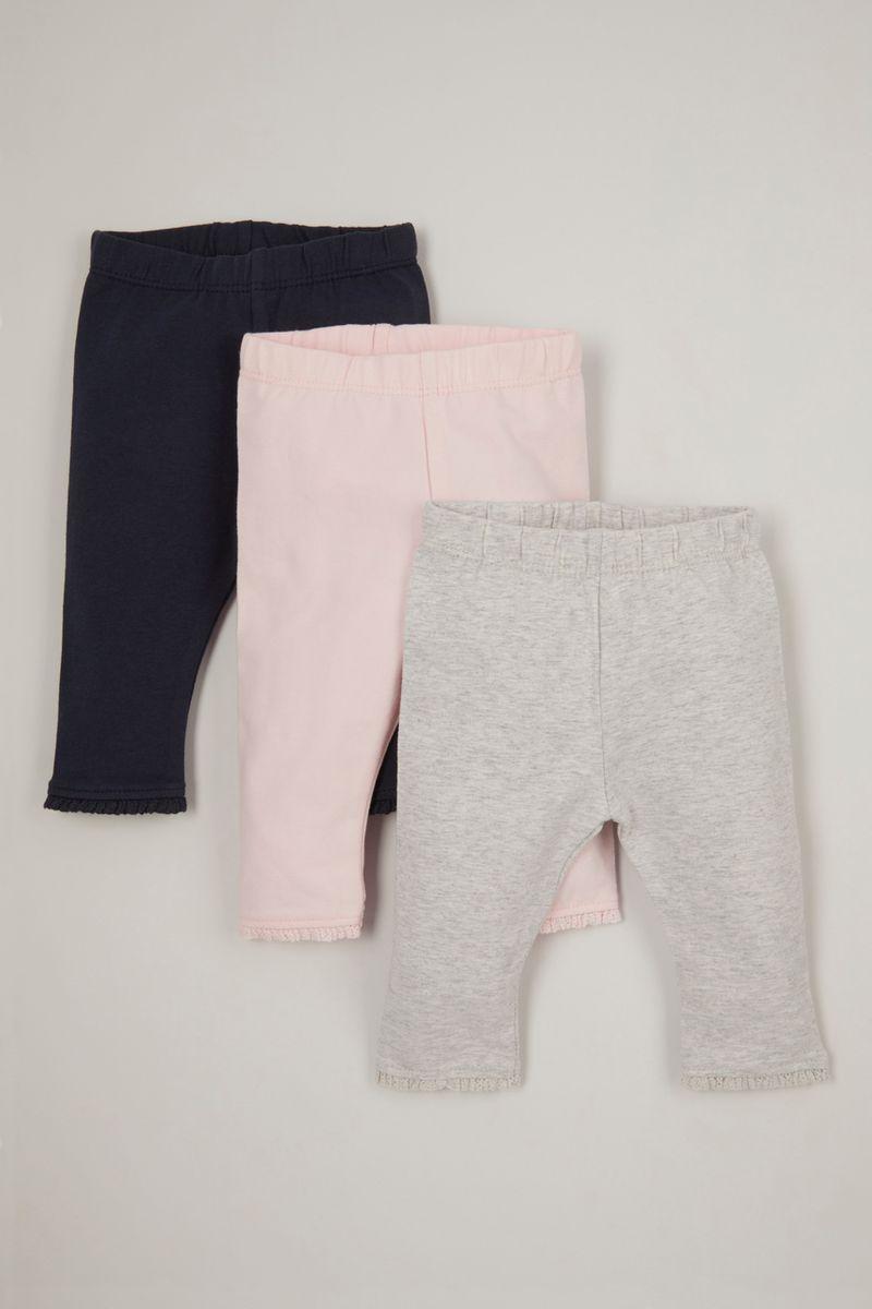 3 Pack Pink leggings