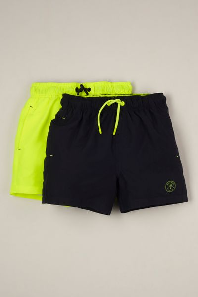 2 Pack Swim Shorts 1-14yrs