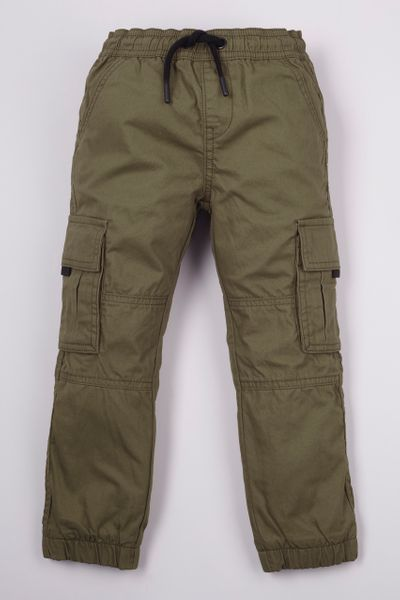 Khaki Lined Cargo Trousers