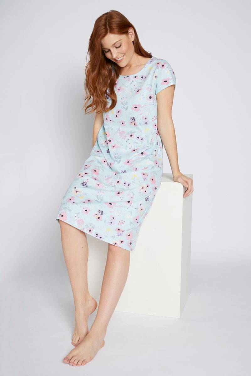 Floral Jersey Nightie