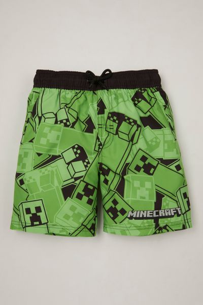 Minecraft Creepers Swim Shorts