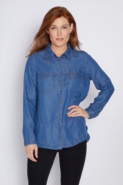 Denim Style T-Shirt