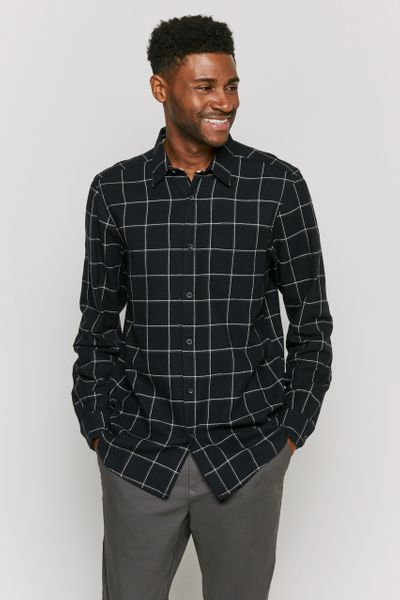 Mono Check Flannel shirt