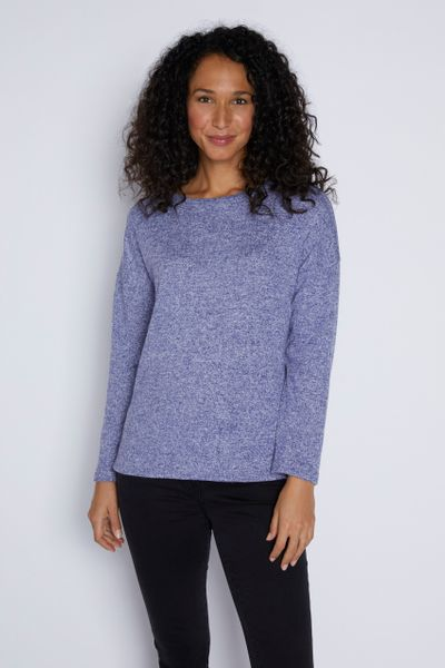 Blue Cosy Top