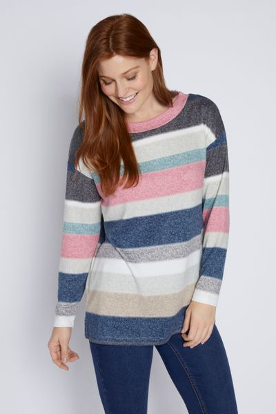 Colourful Stripe Top
