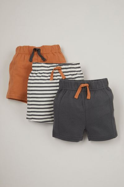 Online Exclusive 3 Pack Stripe shorts